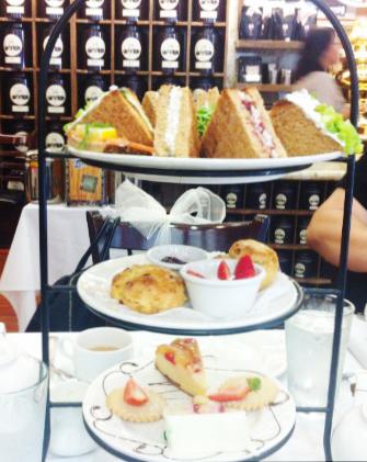 最近凝っているハリウッドにあるChado Teaのアフタヌーンティー